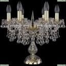 1409L/6/141-39/G Хрустальная настольная лампа Bohemia Ivele Crystal (Богемия), 1409
