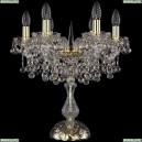 1409L/6/141-47/G Хрустальная настольная лампа Bohemia Ivele Crystal (Богемия), 1409