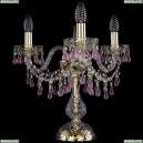 1410L/3/141-39/G/V7010 Настольная лампа Bohemia Ivele Crystal (Богемия), 1410