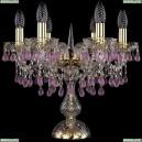 1410L/6/141-39/G/V7010 Настольная лампа Bohemia Ivele Crystal (Богемия), 1410
