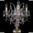 1411L/3/141-39/G Хрустальная настольная лампа Bohemia Ivele Crystal (Богемия), 1411