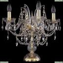 1411L/4/141-39/G Хрустальная настольная лампа Bohemia Ivele Crystal (Богемия), 1411