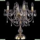 1411L/4/141-47/G Хрустальная настольная лампа Bohemia Ivele Crystal (Богемия), 1411