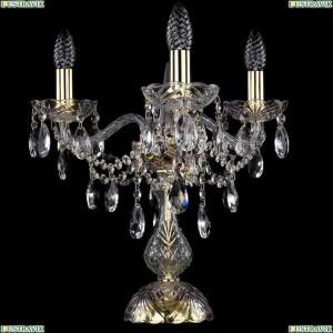 1415L/3/141-39/G Настольная лампа Bohemia Ivele Crystal (Богемия), 1415