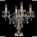 1415L/4/141-39/G Хрустальная настольная лампа Bohemia Ivele Crystal (Богемия), 1415