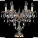 1415L/6/141-39/G Хрустальная настольная лампа Bohemia Ivele Crystal (Богемия), 1415