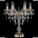 1415L/6/141-47/G Хрустальная настольная лампа Bohemia Ivele Crystal (Богемия), 1415