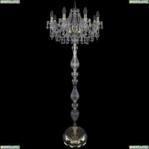 1403T1/8/195-160/G Торшер Bohemia Ivele Crystal (Богемия), 1403