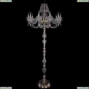1406T1/10/300-210/G Торшер Bohemia Ivele Crystal (Богемия), 1406