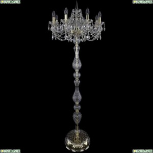 1406T1/8/195-160/G Торшер Bohemia Ivele Crystal (Богемия), 1406