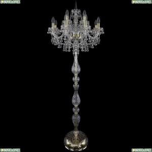1409T1/8+4/195-165/G Торшер Bohemia Ivele Crystal (Богемия), 1409