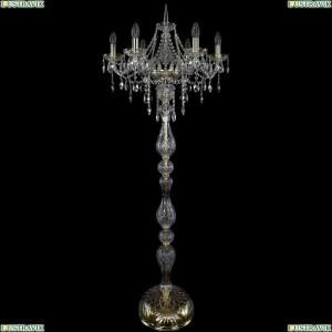 1415T1/6/200-160/G Торшер Bohemia Ivele Crystal (Богемия), 1415