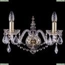 1411B/2/160/G/Leafs Бра Bohemia Ivele Crystal (Богемия), 1411