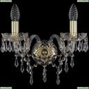 1403B/2/141/G Хрустальное бра Bohemia Ivele Crystal (Богемия), 1403