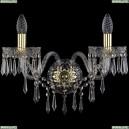 1403B/2/195/XL/G Хрустальное бра Bohemia Ivele Crystal