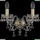 1409B/2/141/G Хрустальное бра Bohemia Ivele Crystal (Богемия), 1409