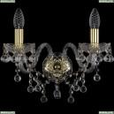 1409B/2/160/G Хрустальное бра Bohemia Ivele Crystal (Богемия), 1409