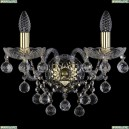 1409B/2/160/XL/G Хрустальное бра Bohemia Ivele Crystal (Богемия), 1409
