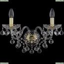 1409B/2/195/XL/G Хрустальное бра Bohemia Ivele Crystal (Богемия), 1409