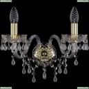 1410B/2/160/G/V0300 Хрустальное бра Bohemia Ivele Crystal