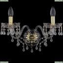 1410B/2/195/XL/G/V0300 Хрустальное бра Bohemia Ivele Crystal