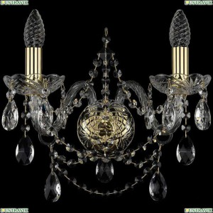 1411B/2/160/G Бра Bohemia Ivele Crystal (Богемия), 1411