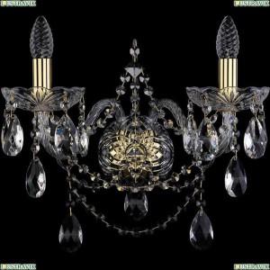 1411B/2/195/XL/G Бра Bohemia Ivele Crystal (Богемия), 1411