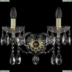 1413B/2/165/XL/G Бра Bohemia Ivele Crystal (Богемия), 1413