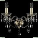 1415B/2/165/G Хрустальное бра Bohemia Ivele Crystal (Богемия), 1415