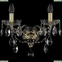 1415B/2/165/XL/G Хрустальное бра Bohemia Ivele Crystal (Богемия), 1415