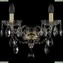1415B/2/165/XL/G Бра Bohemia Ivele Crystal (Богемия), 1415