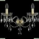 1415B/2/200/XL/G Хрустальное бра Bohemia Ivele Crystal (Богемия), 1415