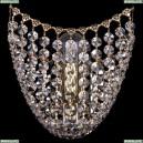 7708/1W/G Хрустальное бра Bohemia Ivele Crystal (Богемия), 7708