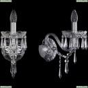 1403B/1/160/XL/Ni Хрустальное бра Bohemia Ivele Crystal (Богемия), 1403