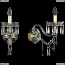 1403B/1/195/XL/G Хрустальное бра Bohemia Ivele Crystal