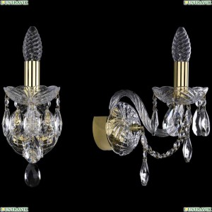 1406B/1/141/G Бра Bohemia Ivele Crystal (Богемия), 1406