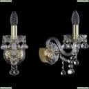 1409B/1/141/G Хрустальное бра Bohemia Ivele Crystal (Богемия), 1409