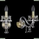 1409B/1/160/G Хрустальное бра Bohemia Ivele Crystal (Богемия), 1409