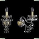 1409B/1/195/XL/G Хрустальное бра Bohemia Ivele Crystal (Богемия), 1409