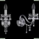 1410B/1/160/Ni/V0300 Хрустальное бра Bohemia Ivele Crystal (Богемия), 1410