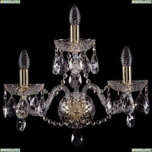 1402B/2+1/195/G Бра Bohemia Ivele Crystal (Богемия), 1402