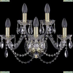 1402B/3+2/160/G Бра Bohemia Ivele Crystal (Богемия), 1402