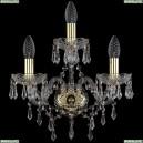 1403B/2+1/141/G Хрустальное бра Bohemia Ivele Crystal (Богемия), 1403