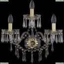 1403B/2+1/195/XL/G Хрустальное бра Bohemia Ivele Crystal (Богемия), 1403