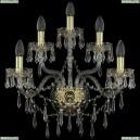 1403B/2+2+1/195/XL/G Хрустальное бра Bohemia Ivele Crystal (Богемия), 1403