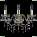 1403B/3/160/G Хрустальное бра Bohemia Ivele Crystal