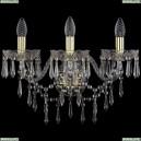 1403B/3/195/XL/G Хрустальное бра Bohemia Ivele Crystal (Богемия), 1403