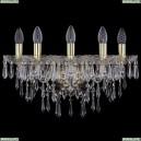 1403B/5/160/XL/G Хрустальное бра Bohemia Ivele Crystal