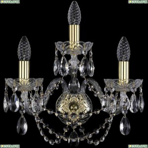 1406B/2+1/160/G Бра Bohemia Ivele Crystal (Богемия), 1406