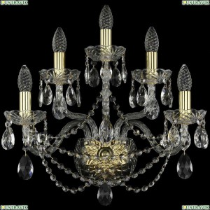 1406B/2+2+1/195/XL/G Бра Bohemia Ivele Crystal (Богемия), 1406